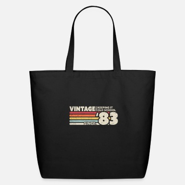 Old School 1983 Vintage, Keeping It Old School Since '83 - Eco-Friendly Tote Bag