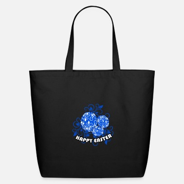 Fear Happy Easter with funny Easter bunny motif childre - Eco-Friendly Tote Bag