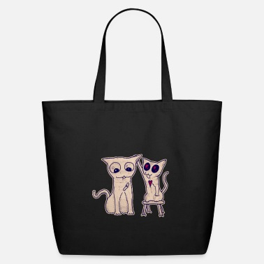 Tongue Infinite support - Eco-Friendly Tote Bag