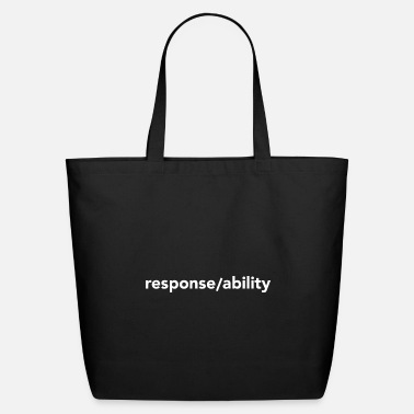 response/ability - Eco-Friendly Tote Bag