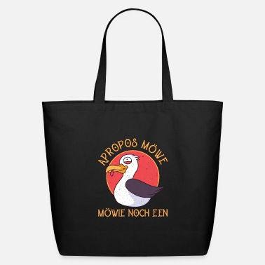 Baltic Sea Plattdeutsch - Apropros Seagull Möwie Noch Een - Eco-Friendly Tote Bag