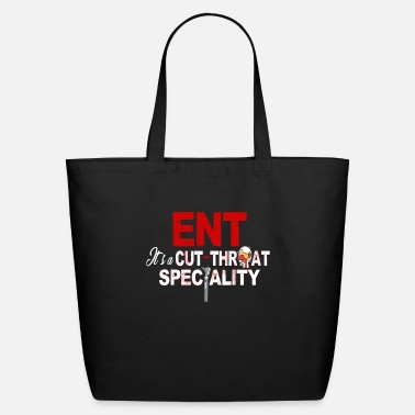Specialty ENT It's a Cut-Throat Specialty ENT Specialist - Eco-Friendly Tote Bag