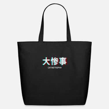 Catastrophy Catastrophy Japanese Vaporwave Aesthetic Gift - Eco-Friendly Tote Bag