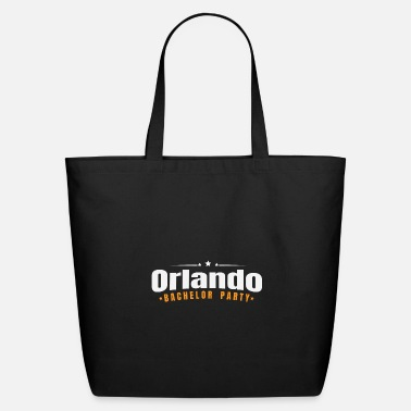 Game Over Bachelor Party Shirt New Orlando Pre Wedding - Eco-Friendly Tote Bag