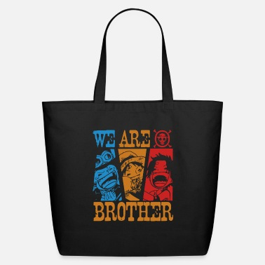 Piece We Are Brothers One Piece anime - Eco-Friendly Tote Bag
