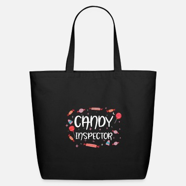 Zombie Halloween Candy Inspector Trick Or Treat Sweets - Eco-Friendly Tote Bag
