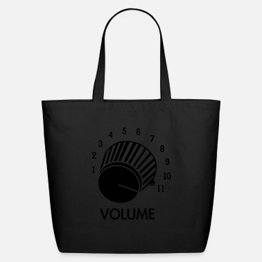Knob Volume Knob Up To 11 - Eco-Friendly Tote Bag