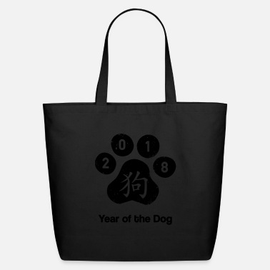 Chinese Zodiac zodiac chinese year 2018 - Eco-Friendly Tote Bag