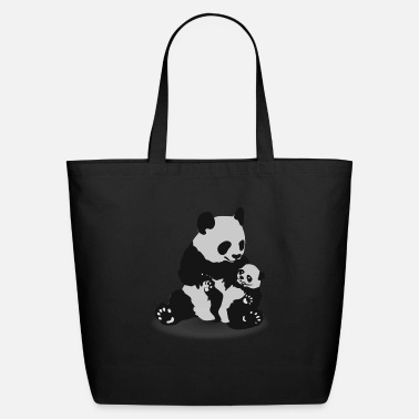 Panda Cute Panda And Baby Panda - Eco-Friendly Tote Bag