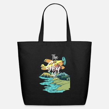 Limit The sky is not the limit - Eco-Friendly Tote Bag