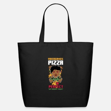 Video Game Video Games Pizza - Eco-Friendly Tote Bag