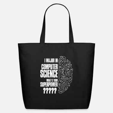 Computer Science I Major In Computer Science T Shirt - Eco-Friendly Tote Bag
