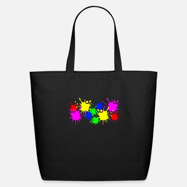 Coloring Splashes of color splashes of color color color du - Eco-Friendly Tote Bag