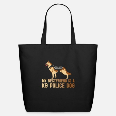 Police Police dog T-shirt gift - Eco-Friendly Tote Bag