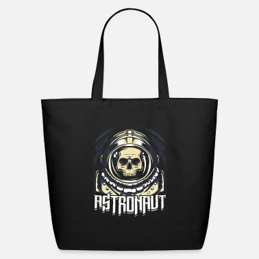 Spacemonster Astronaut Skull Spacemonster Sci-fi - Eco-Friendly Tote Bag