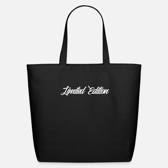 Gift Idea Bags & Backpacks - Limited Edition - Eco-Friendly Tote Bag black