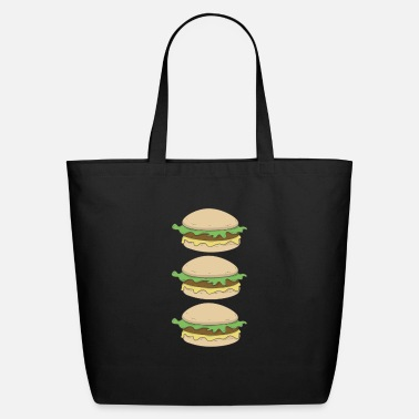 Burger Burger Burger Burger - Eco-Friendly Tote Bag