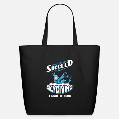 Skydiver Skydive skydive cartoon skydive Skydive skydive - Eco-Friendly Tote Bag