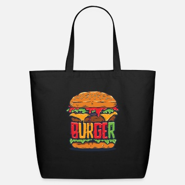 Burger Burger - Eco-Friendly Tote Bag