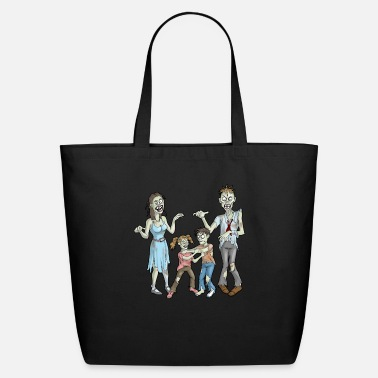Family Zombie Family of Zombies Halloween Mom Zombie Dad - Eco-Friendly Tote Bag