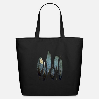 Feather feathers - Eco-Friendly Tote Bag