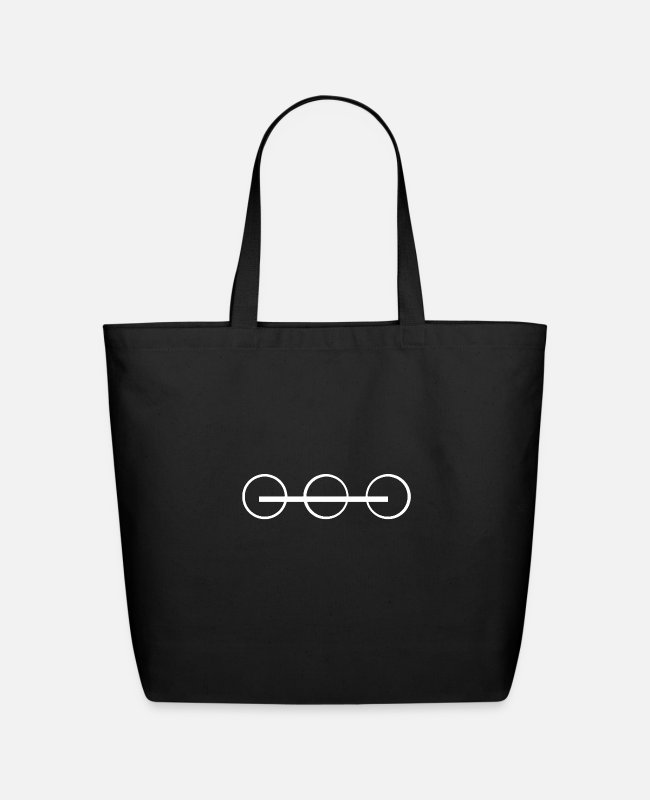 Space Bags & Backpacks - Spacing Guild logo - Eco-Friendly Tote Bag black