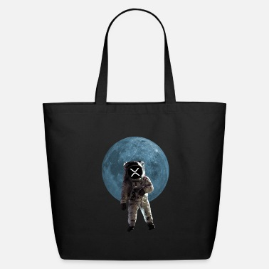 Moon Ripple XRP - Eco-Friendly Tote Bag