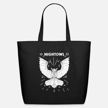 Robo Monkey ROBO MONKEY NIGHT OWL 2 - Eco-Friendly Tote Bag