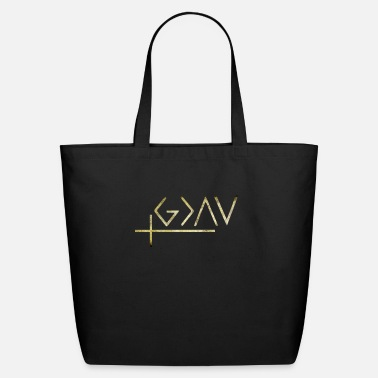 God Is Greater Than Highs And Lows god is greater than the highs and lows shirt - Eco-Friendly Tote Bag