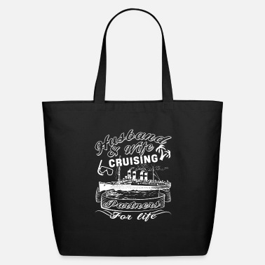 Husband Husband And Wife Are Cruising Partners T Shirt - Eco-Friendly Tote Bag