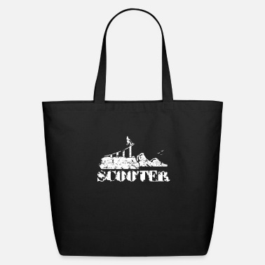 Scooter scooter - Eco-Friendly Tote Bag