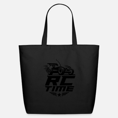 Time RC Time Radio Controlled Racing Enthusiasts Sports - Eco-Friendly Tote Bag