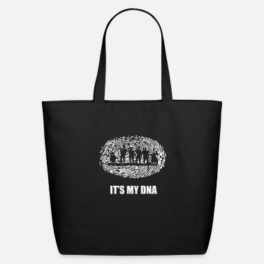 Funny Military Military DNA - Eco-Friendly Tote Bag