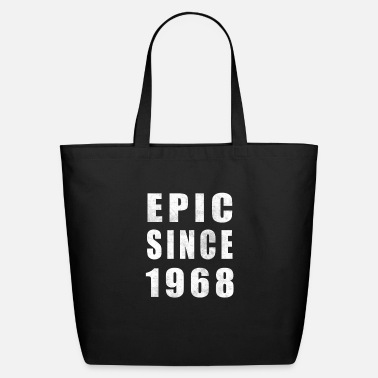 Birthday Epic Since 1968, 50th Birthday Shirt - Eco-Friendly Tote Bag