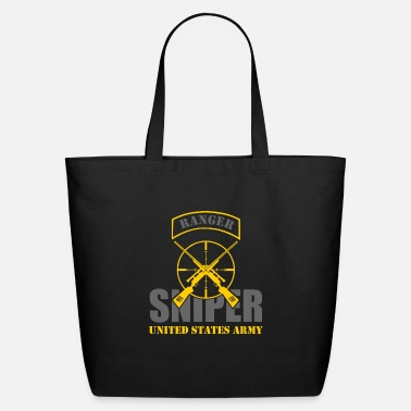Sniper Tab Ranger US Army Team Sniper - Eco-Friendly Tote Bag