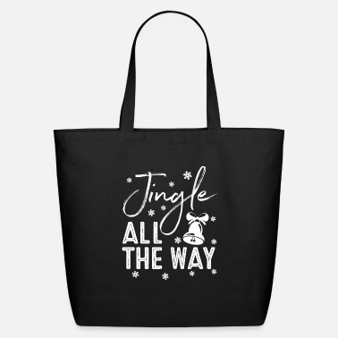 Date Of Birth Jingle All The Way Holiday Season Gift - Eco-Friendly Tote Bag