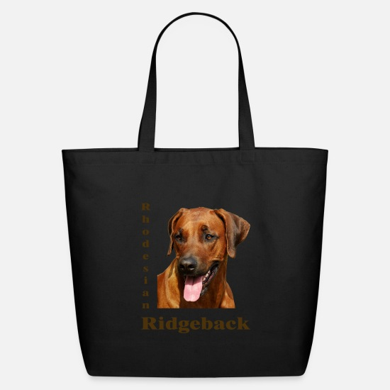 Ridgeback Bags & Backpacks - Rhodesian Ridgeback - Eco-Friendly Tote Bag black