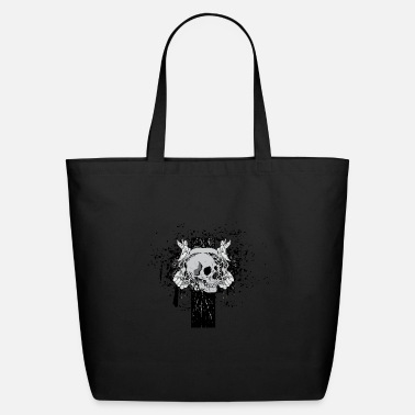 Death Death Skull - Eco-Friendly Tote Bag