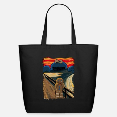Cookie The Cookie Muncher - Eco-Friendly Tote Bag
