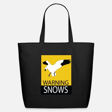 Snow Goose Warning Snows - Spring Snow Goose Hunting Snows - Eco-Friendly Tote Bag