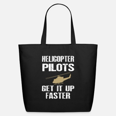 Christmas Lights Helicopter pilot gifts - Eco-Friendly Tote Bag