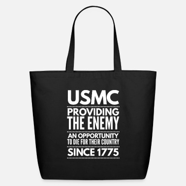 Marine Veterans - Eco-Friendly Tote Bag