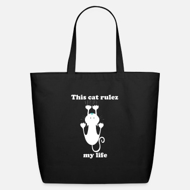 Rulez This cat rulez my life - Eco-Friendly Tote Bag