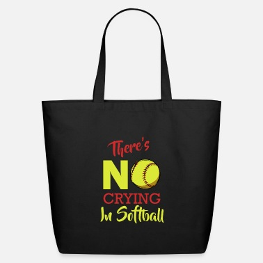 Turn On There's No Crying In Softball Baseball Coach Playe - Eco-Friendly Tote Bag