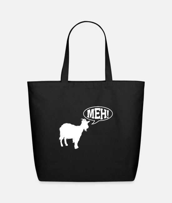 Beak Bags & Backpacks - animals - Eco-Friendly Tote Bag black