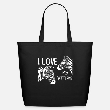 Zebra Zebra Pattern - Eco-Friendly Tote Bag