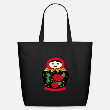 Babushka babushka shirt & russian shirt - russian gifts - Eco-Friendly Tote Bag