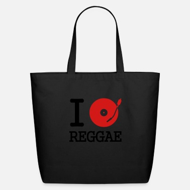 Club I dj / play / listen to reggae - Eco-Friendly Tote Bag