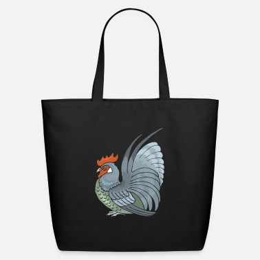 Rooster rooster - Eco-Friendly Tote Bag