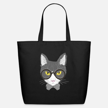 Catstagram Hipster cat - Eco-Friendly Tote Bag